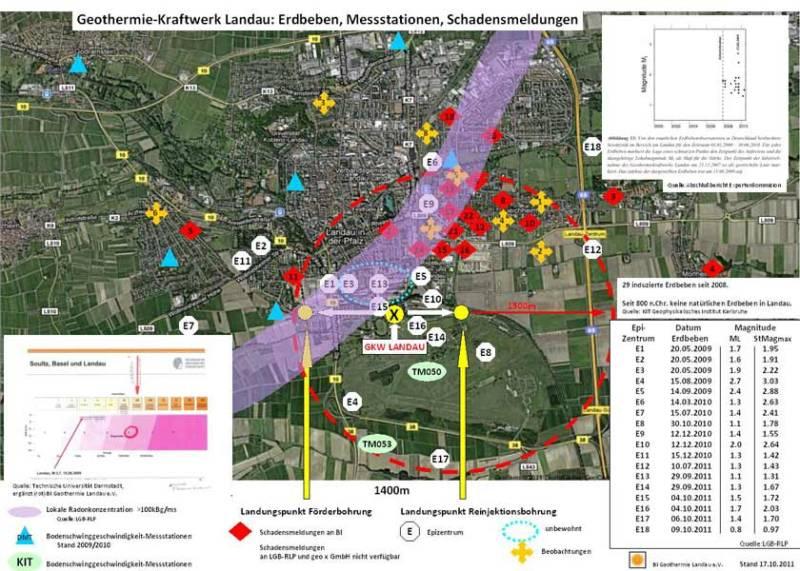 Geothermiekraftwerk Landau - Es ist der Niedergang eines einst gefeierten Projekts